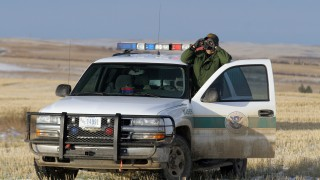 Border Patrol In Montana